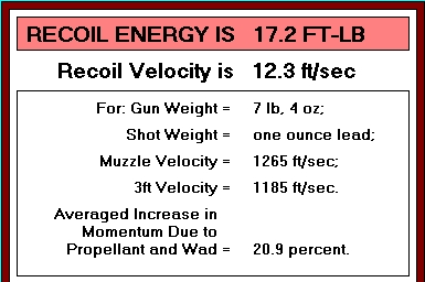 Why Not Shoot a Shotgun with Half the Recoil?