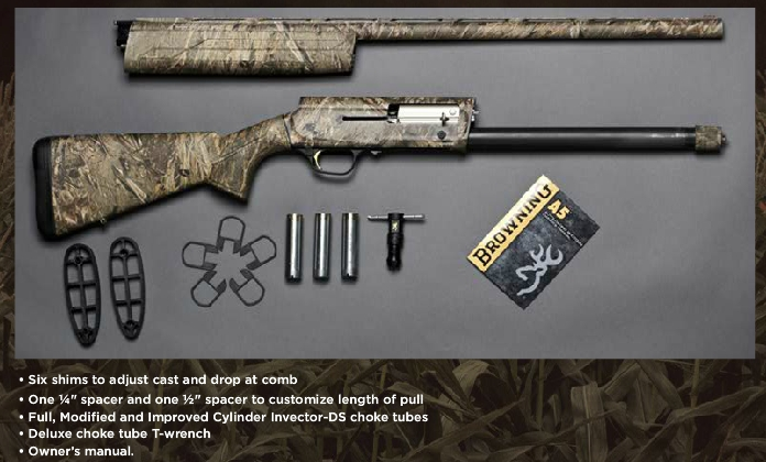 more on the forthcoming browning a5 rh randywakeman com Browning Maxus Hunter browning maxus handbook