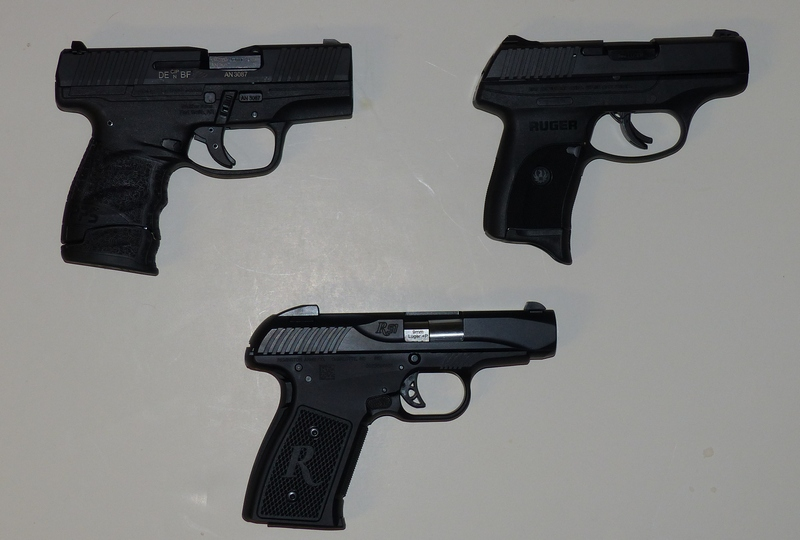 a concealed carry 9mm pistol comparison remington ruger walther